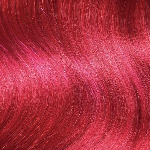 Sonderposten: 50 indische Naturhaarsträhnen 40 cm pink MR