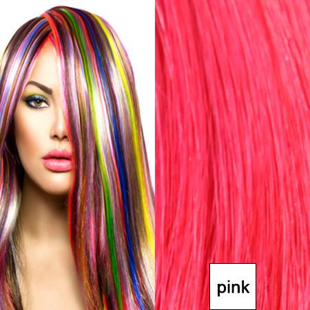 Sonderpreis wegen Lieferantenwechsel:10 x 4cm Tape In Skin Weft glattes indisches Naturhaar pink