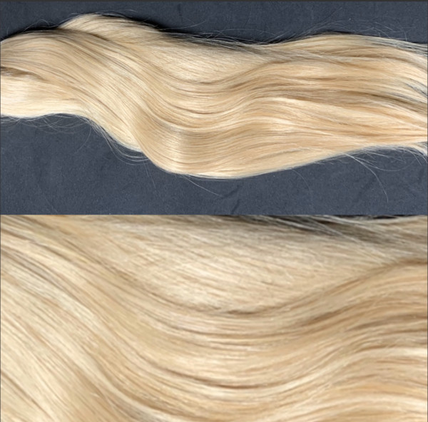 10 x 4cm Tape Extensions mittelblond Mix m27/613