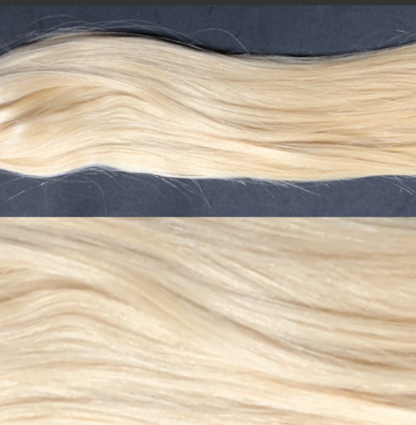 10 x 4cm Tape Extensions goldblond 24