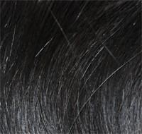 1 indische Rohhaarsträhne stark gewellt