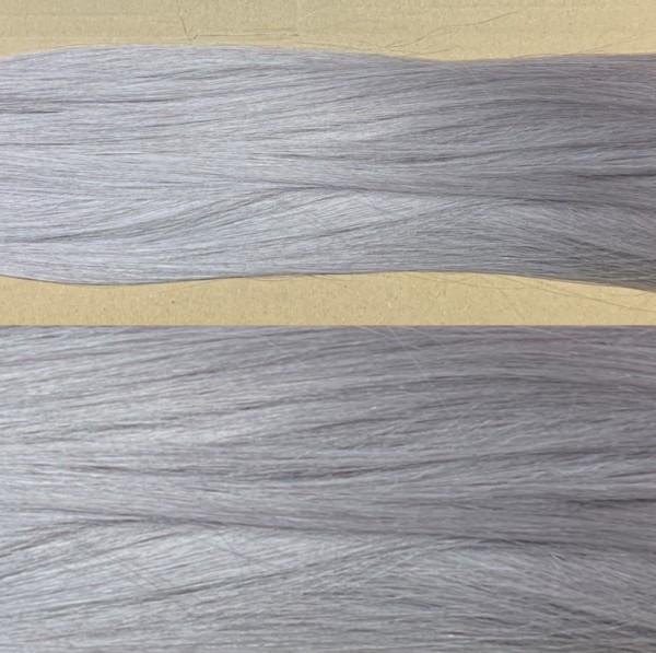 Premium Qualität: 1 Strähne russisches Naturhaar Fb. Metal Grey