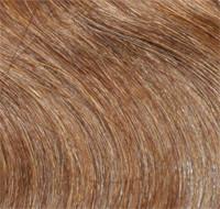 1 Tresse indisches Naturhaar goldbraun/kupfer gesträhnt p10L/18r