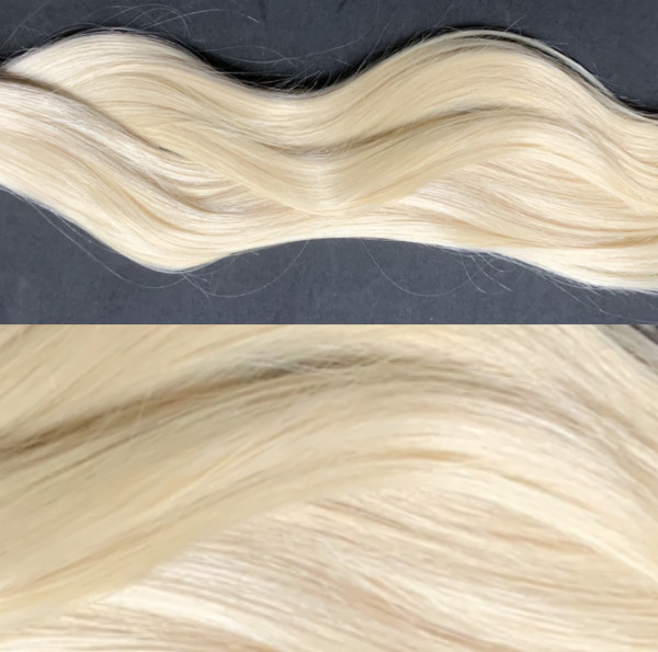 10 x 4cm Tape Extensions hell-lichtblond 60