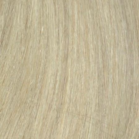 1 Tresse indisches Naturhaar platinblond asch 613G
